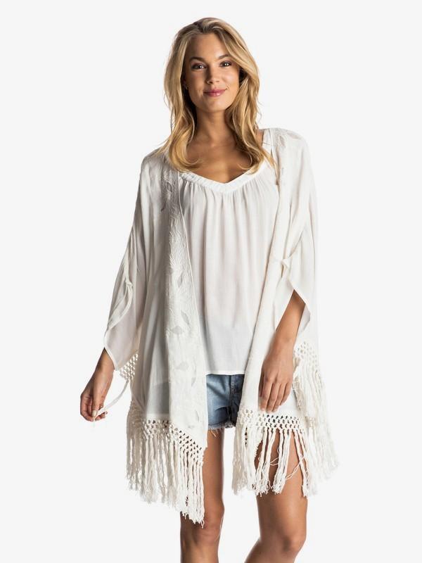 0 Desert Oasis Kimono White ARJWT03137 Roxy