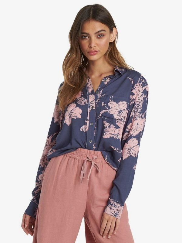 Not Now Printed - Long Sleeve Shirt for Women  ARJWT03202