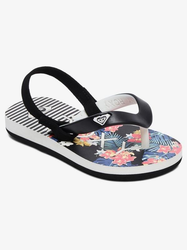 0 Girl's 2-6 Tahiti Sandals Black AROL100005 Roxy