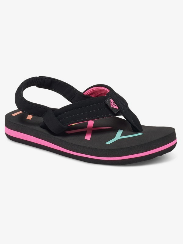 0 Girl's 2-6 Vista Sandals Black AROL100006 Roxy