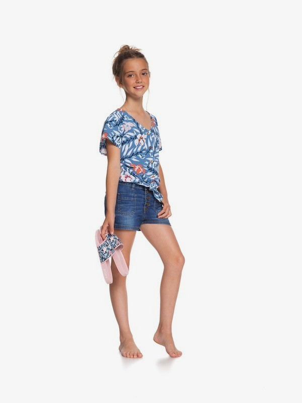 Once Again - Denim Shorts for Girls 4-16  ERGDS03054