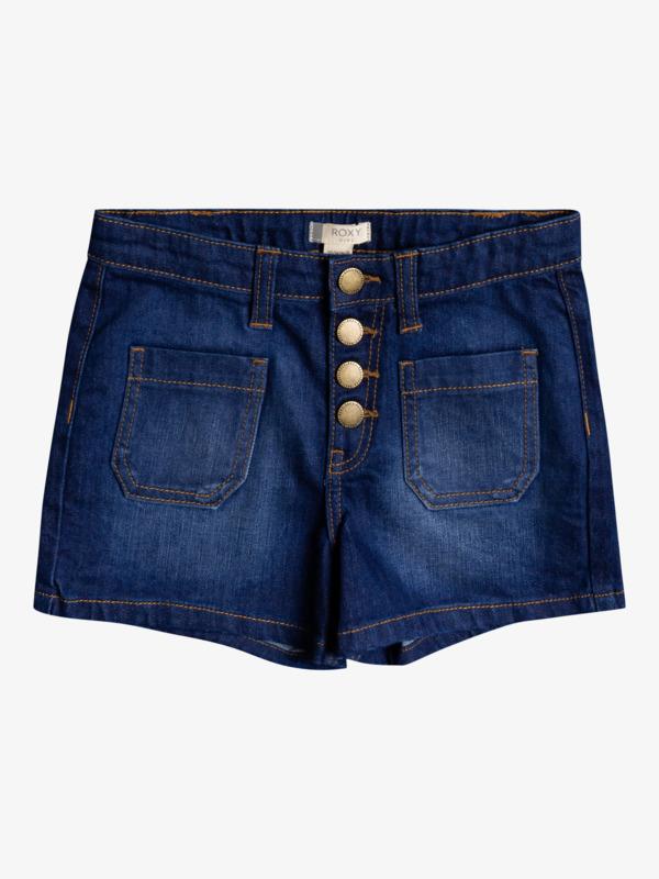 Jump In Love - High Waist Denim Shorts for Girls 4-16  ERGDS03064