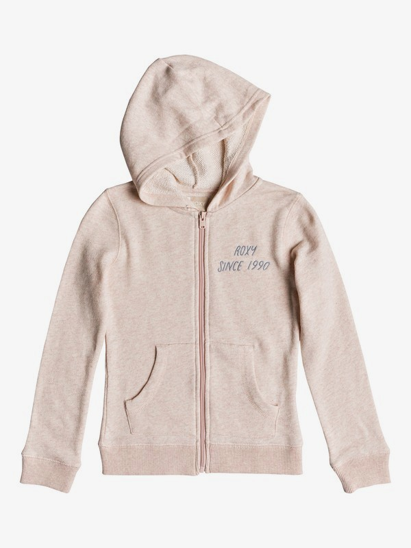 0 Girl's 7-14 Last Smile Wavey Mountain Hoodie Pink ERGFT03308 Roxy