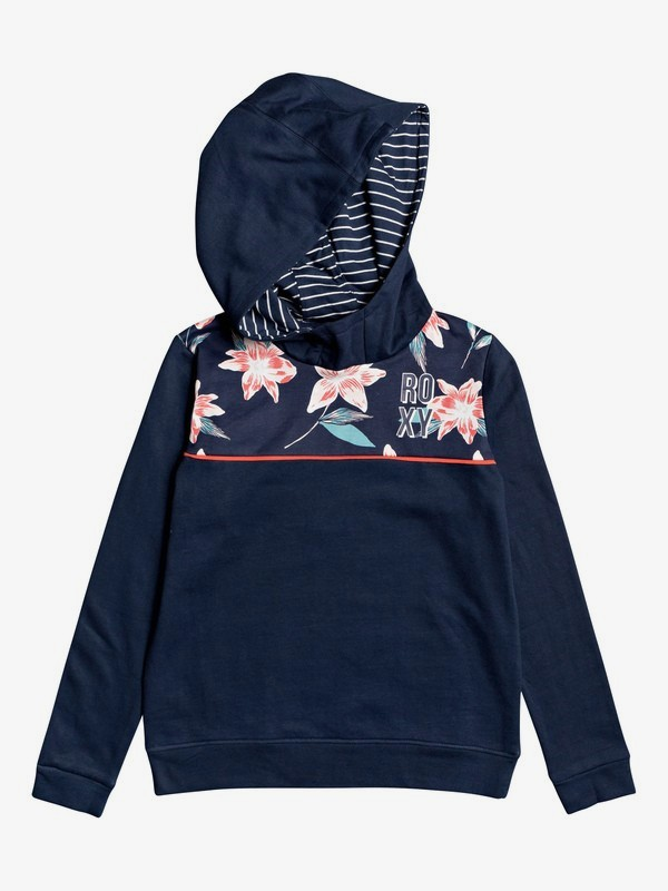 0 Traveling Soul A - Hoodie for Girls 4-16 Blue ERGFT03439 Roxy