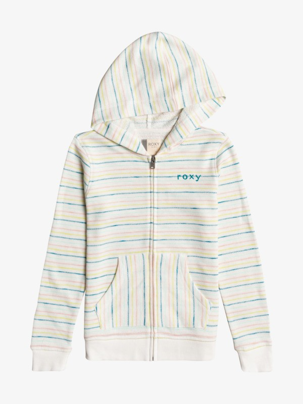 Lighter Day Stripe - Zip-Up Hoodie for Girls 4-16  ERGFT03634
