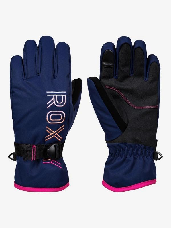 0 Freshfield Snowboard/Ski Gloves Blue ERGHN03019 Roxy