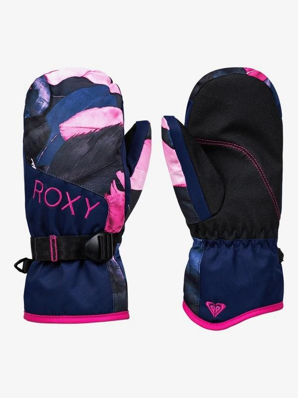 0 ROXY Jetty - Manoplas para Snowboard/Esquí para Chicas 8-16 Azul ERGHN03021 Roxy