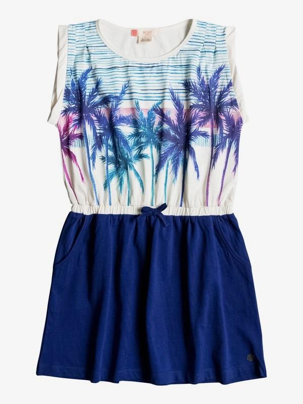 0 Двухцветное платье Presidio Palm Белый ERGKD03023 Roxy