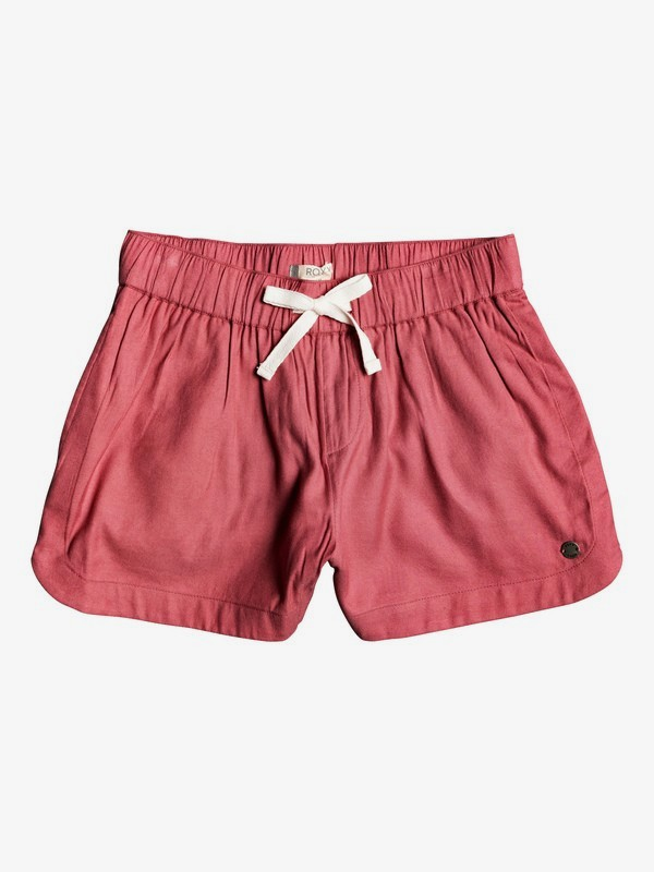 0 Una Mattina Lightweight Shorts Pink ERGNS03046 Roxy