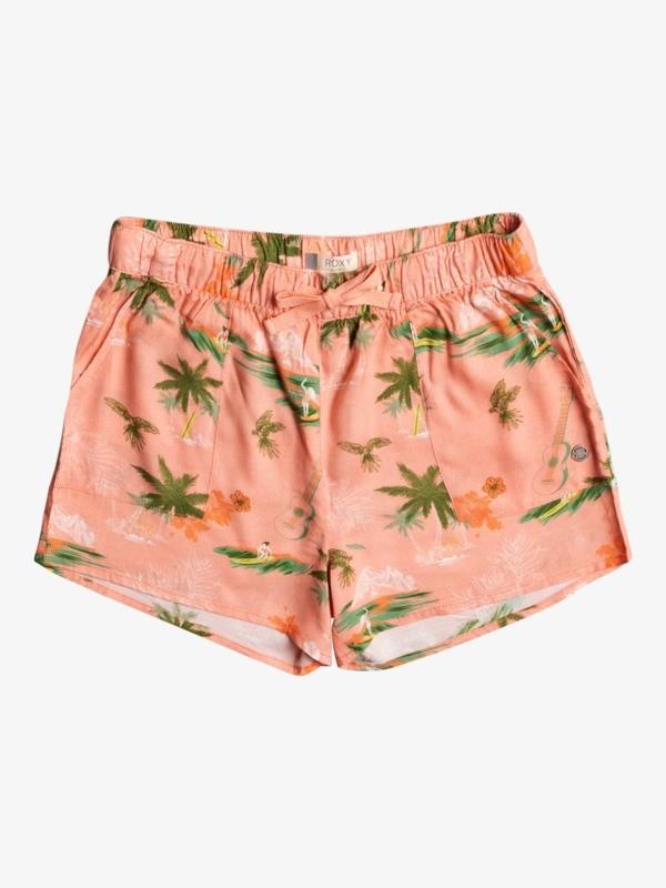 Eyes Look The Sky - Beach Shorts for Girls 4-16  ERGNS03091