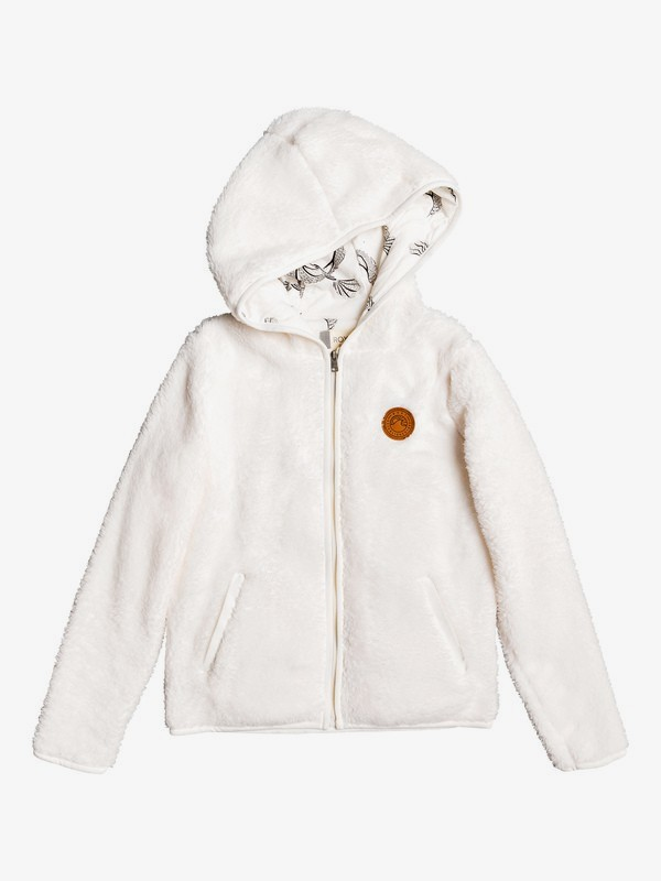 Silver Water - Hooded Faux Fur Zip-Up Hoodie for Girls 4-16  ERGPF03017