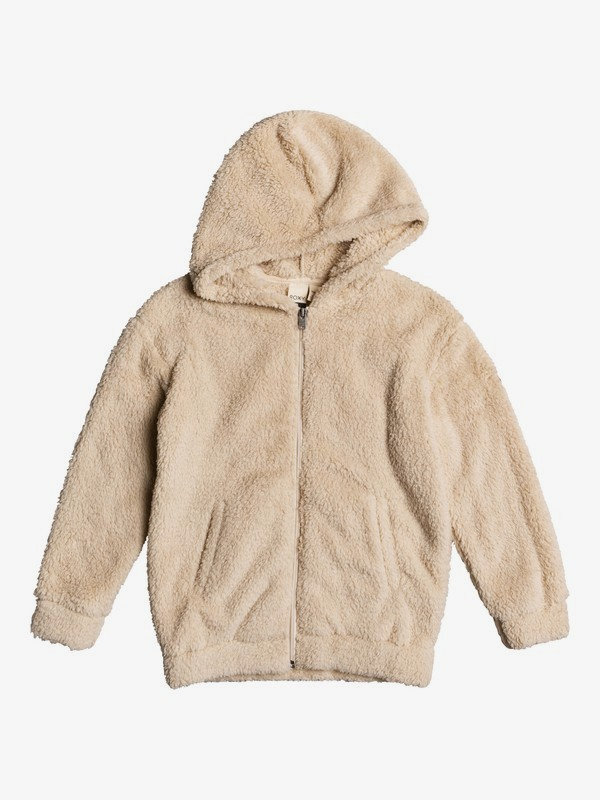 Sunny Anyway - Oversized Zip-Up Sherpa Hoodie for Girls 4-16  ERGPF03021
