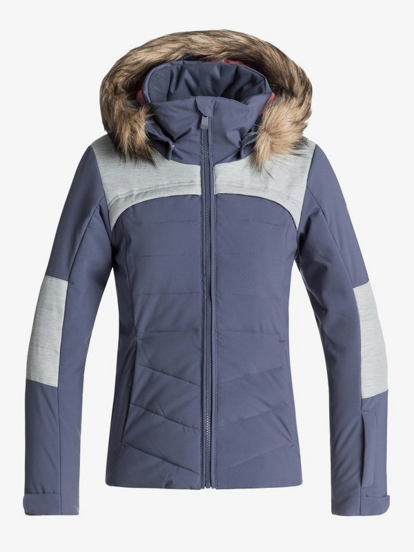 0 Bamba - Chaqueta Para Nieve para Chicas 8-16 Azul ERGTJ03050 Roxy