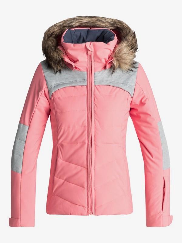 0 Bamba - Chaqueta Para Nieve para Chicas 8-16 Rosa ERGTJ03050 Roxy