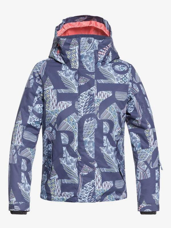 0 ROXY Jetty - Veste de snow pour Fille 8-16 ans Bleu ERGTJ03058 Roxy