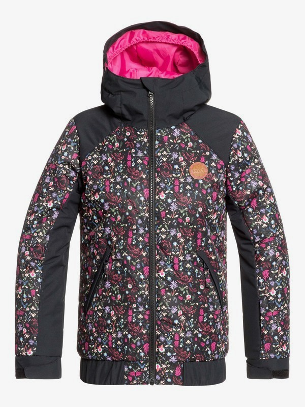 0 Lowland Snow Jacket Black ERGTJ03080 Roxy