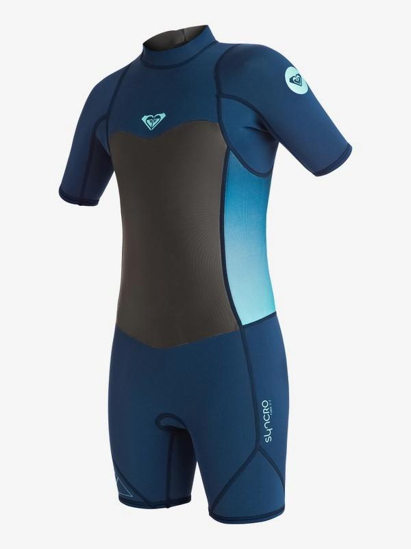 0 Syncro 2/2mm - Traje De Surf Primavera Con Cremallera Trasera Azul ERGW503001 Roxy