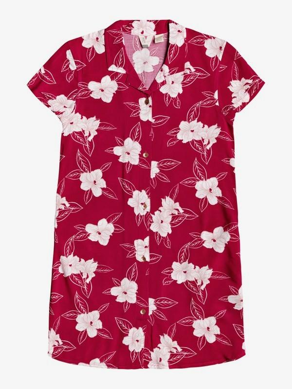 Your Taste - Short Sleeve Shirt Dress  ERGWD03102