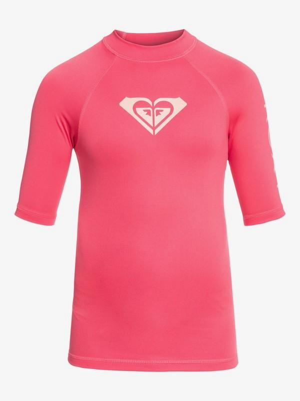 Whole Hearted - Short Sleeve UPF 50 Rash Vest for Girls 8-16 ERGWR03079