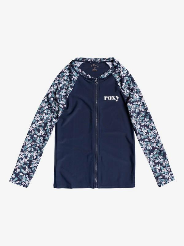 Your Magic - Long Sleeve Zip-Up UPF 50 Rash Vest for Girls 8-16  ERGWR03197