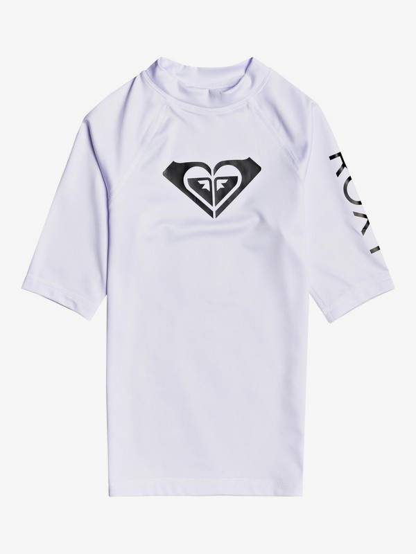 Whole Hearted - Short Sleeve Rash Vest for Girls 8-16  ERGWR03206