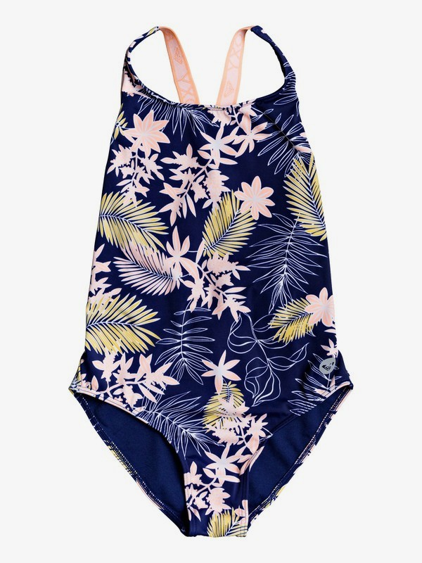 0 Bikini Point - Maillot de bain une pièce pour Fille 8-16 ans Bleu ERGX103052 Roxy