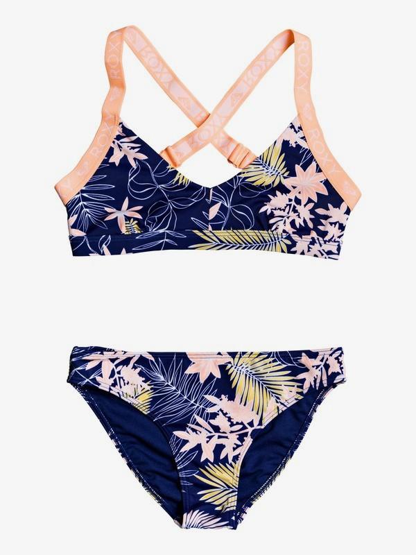 0 Bikini Point - Ensemble de bikini Sporty tri pour Fille 8-16 ans Bleu ERGX203203 Roxy
