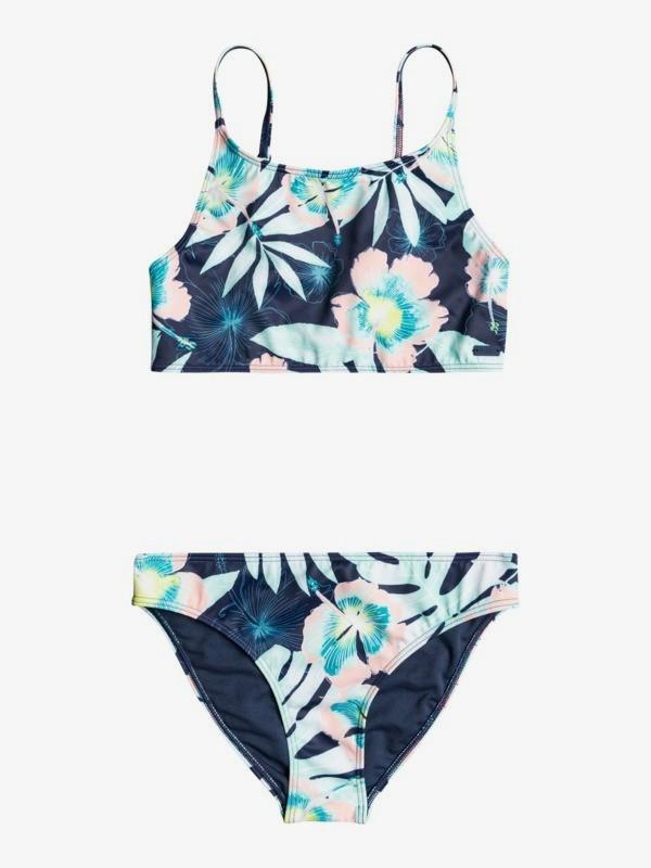 Hawaii Story - Crop Top Bikini Set for Girls 8-16  ERGX203355