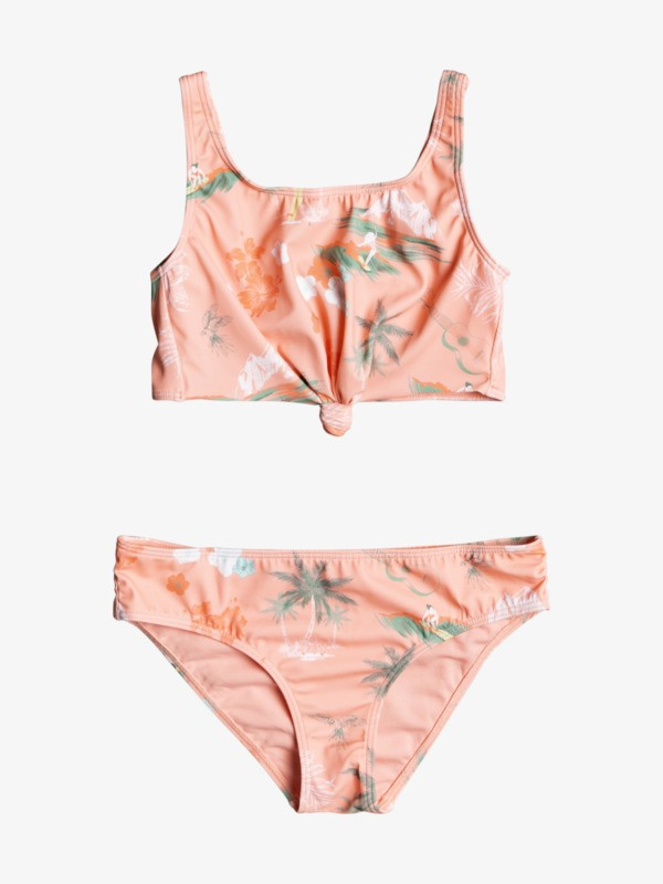 Surf Landscape - Recycled Crop Top Bikini Set for Girls 8-16  ERGX203359