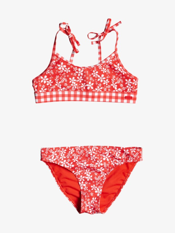 Friendly Flower - Bralette Bikini Set for Girls 8-16  ERGX203365
