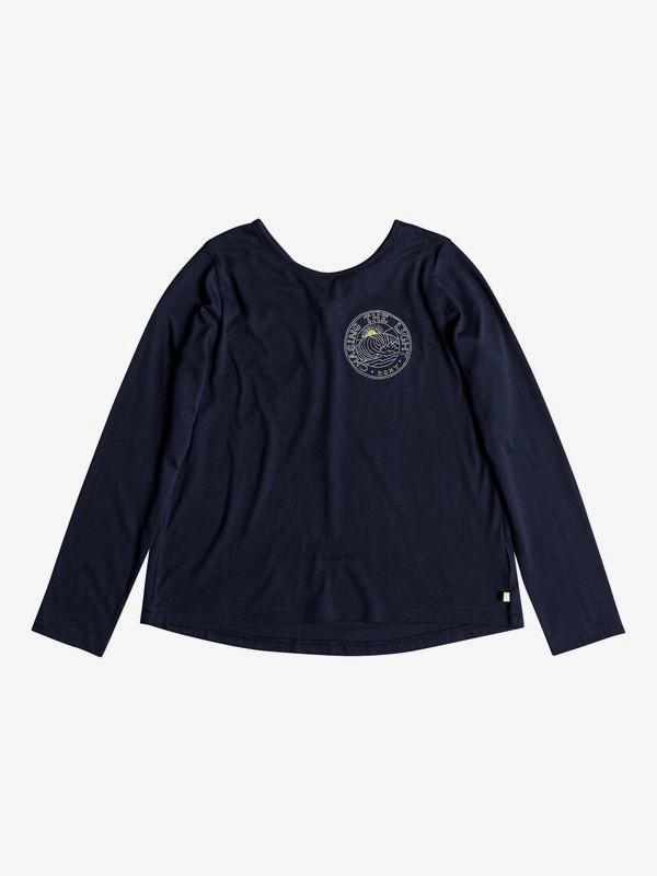 0 Skinny Love Little Wave - T-shirt manches longues pour Fille 8-16 ans Bleu ERGZT03334 Roxy