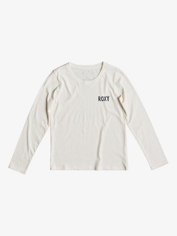 0 Gradual Awakening - T-shirt à manches longues pour Fille 8-16 ans Blanc ERGZT03344 Roxy