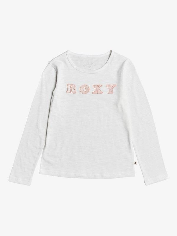 0 Bananas Party - Long Sleeve T-Shirt for Girls 4-16 White ERGZT03457 Roxy