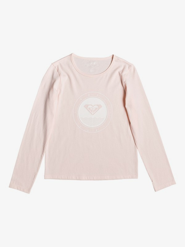 0 So Amazing - Long Sleeve T-Shirt for Girls 4-16 Pink ERGZT03458 Roxy