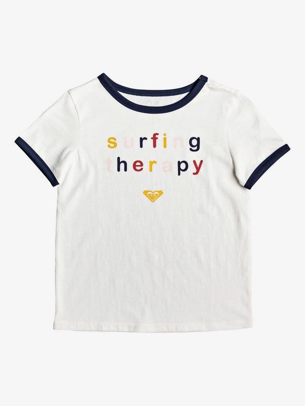 0 Love Break - T-Shirt for Girls 4-16 White ERGZT03482 Roxy