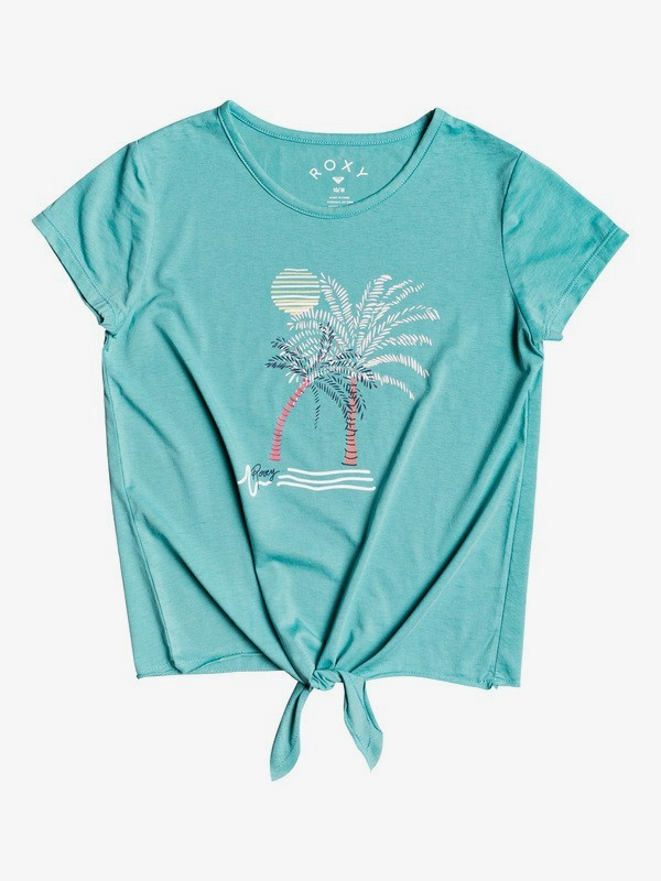 Summer Long A - Tie-Front T-Shirt for Girls 4-16  ERGZT03580
