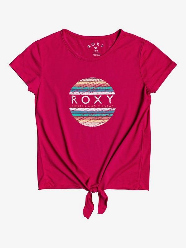 Summer Long B - Tie-Front T-Shirt for Girls 4-16  ERGZT03581