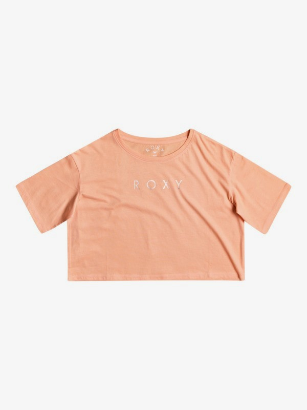 Bali Memory - Cropped Short Sleeve Top for Girls 4-16  ERGZT03734