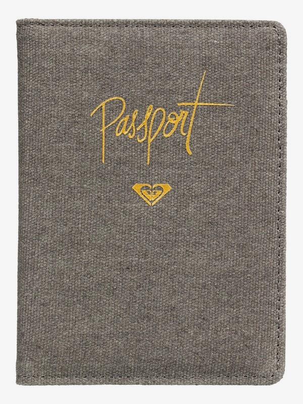 0 Porta Pasaporte Live Your Dreams Negro ERJAA03507 Roxy