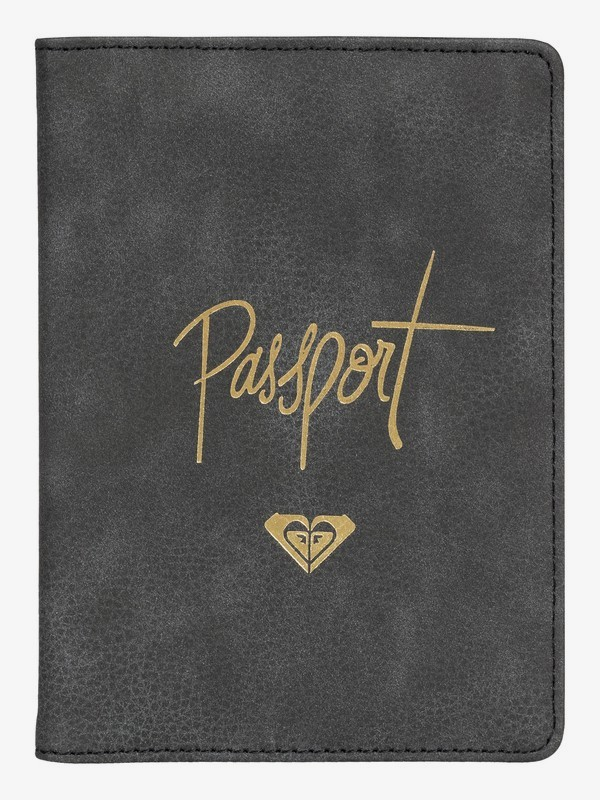 0 Live Your Dreams Faux Leather Passport Cover  ERJAA03546 Roxy