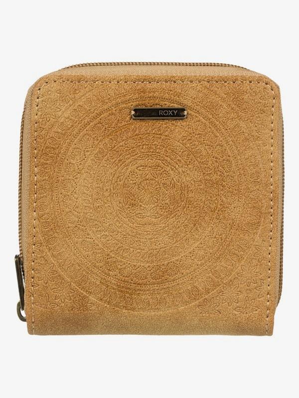 0 Carry A Heart Zip-Around Wallet Orange ERJAA03555 Roxy