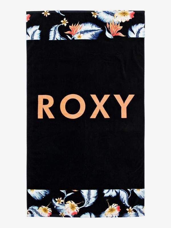 0 Hazy Mix - Beach Towel Black ERJAA03559 Roxy