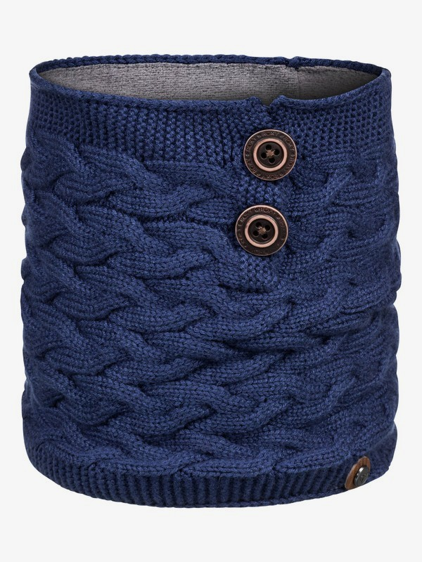 0 Alta HydroSmart Neck Warmer Blue ERJAA03586 Roxy