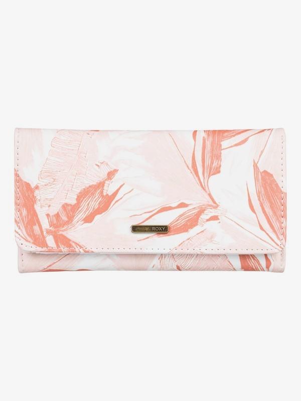 0 My Long Eyes Tri-Fold Wallet White ERJAA03600 Roxy