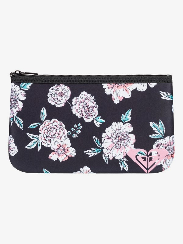 0 Pencil Emotion Pencil Case Black ERJAA03624 Roxy