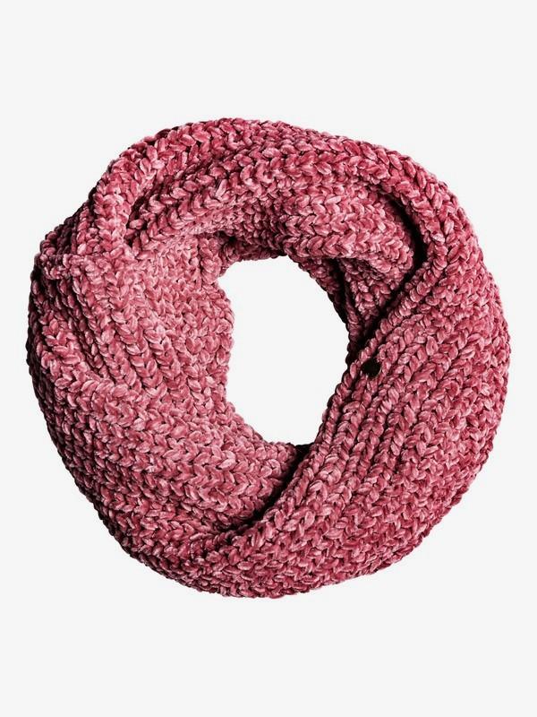 0 Collect Moment - Chenille-Infinity-Schal für Frauen Rosa ERJAA03640 Roxy
