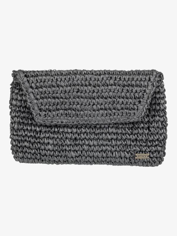 Timeless Tide - Straw Clutch Bag  ERJAA03831