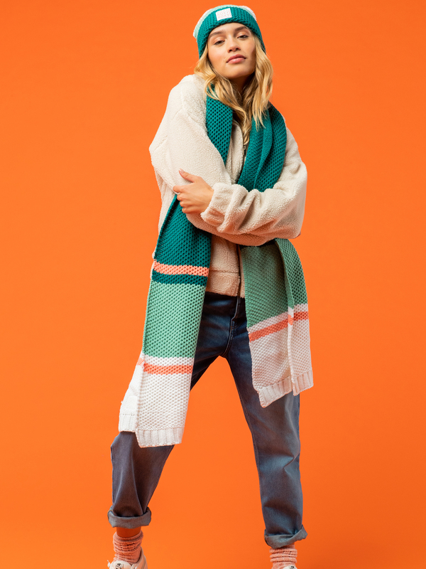 Winter Session - Plaid Scarf for Women  ERJAA03960