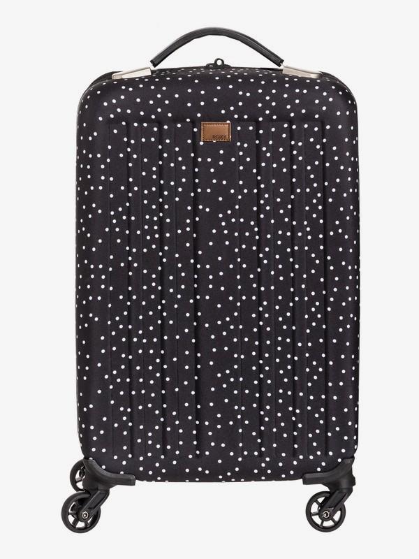 0 Stay True 35 L Wheeled Cabin Suitcase Black ERJBL03130 Roxy