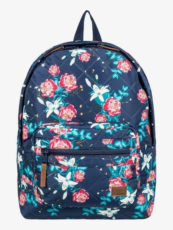 0 Morning Light 16L Small Backpack Blue ERJBP03842 Roxy